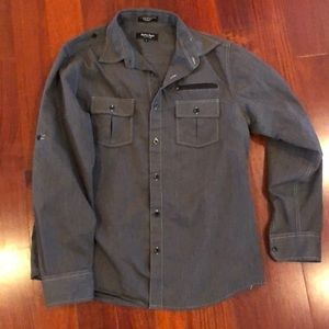 Eighty Eight Platinum men's L button down shirt